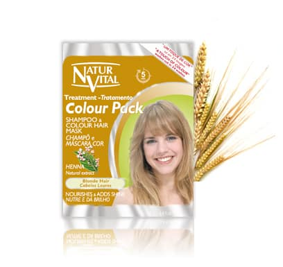 NaturVital Colour Pack BLONDE - NaturVital Hair Care Products. NaturesWell UK - Ireland