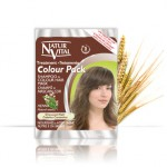 Natur Vital Colour Pack CHESTNUT - NaturVital Hair Care Products. NaturesWell UK - Ireland - Natur Vital`s Colour pack is an ideal Shampoo, Mask and colour top up between normal hair treatments, the 40ml sachet contains two sections