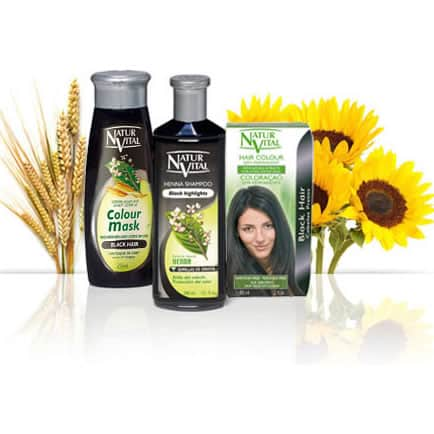 Natur Vital Value Pack BLACK - NaturVital Hair Care Products. NaturesWell UK - Ireland