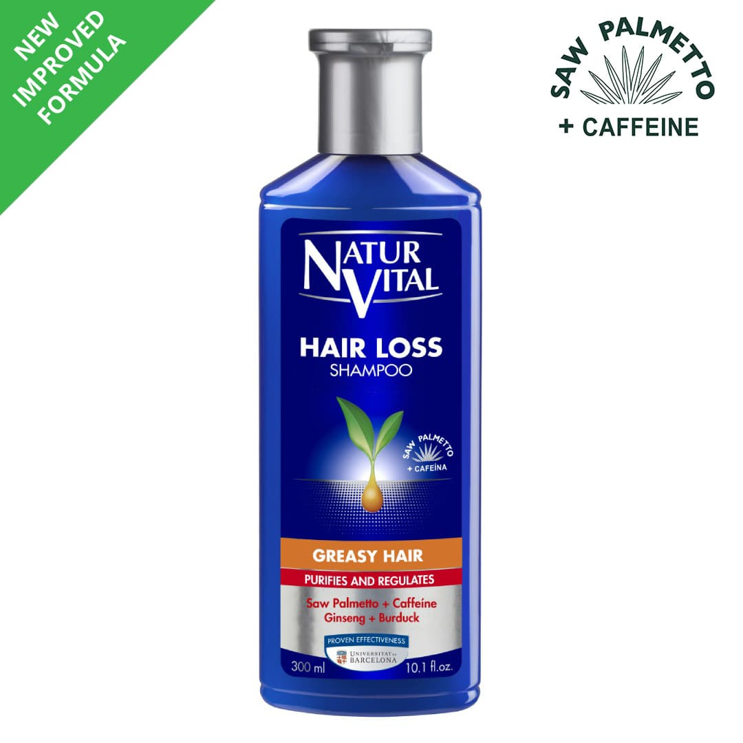 Hair Loss Shampoo Greasy Hair Naturvital