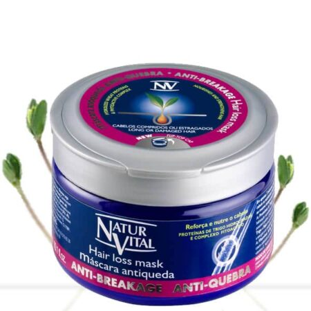 - Hairloss Intensive Mask - NaturVital Hair Care Products. NaturesWell UK - Ireland - Restructure the hair fibre from deep inside,while nourshing the root of the hair and increasing the resistance to breaking recommended for repairing weakened air. This intense conditioner is ideal for hair that has been damaged and needs some tender loving care. Contains a phytoactive formula that helps prevent Hair Loss .