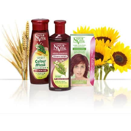 Natur Vital Value Pack MAHOGANY - NaturVital Hair Care Products. NaturesWell UK - Ireland