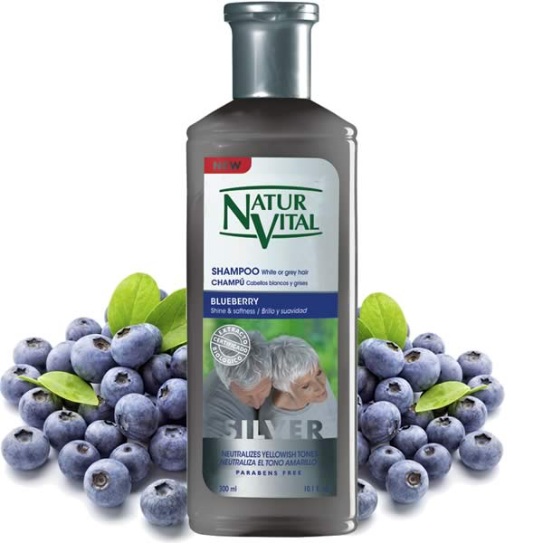 Shampoo White Or Grey Hair Naturvital