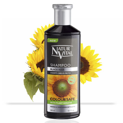 Henna Shampoo For Black Coloured Hair Naturvital