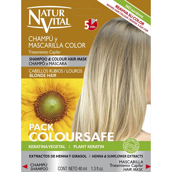 Colour Pack Duo Sachet Blonde Hair Naturvital