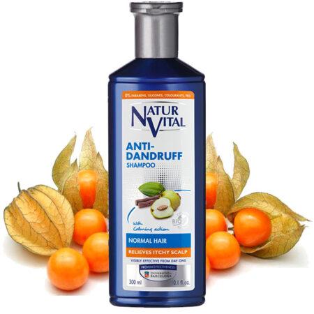 Anti dandruff shampoo for normal hair